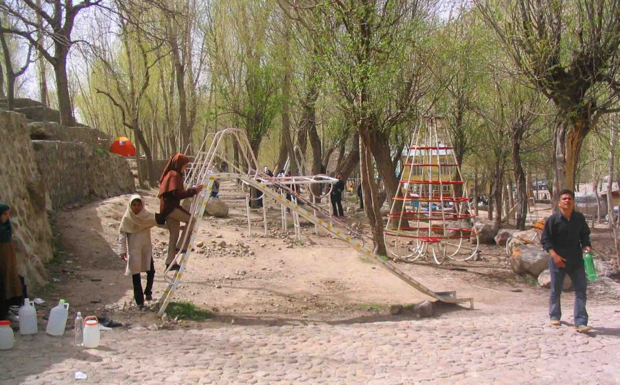 Playground in Tabriz.