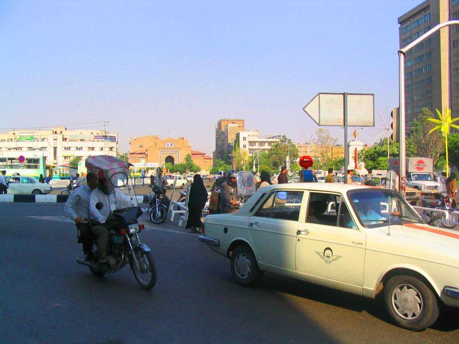 Tehran streets.