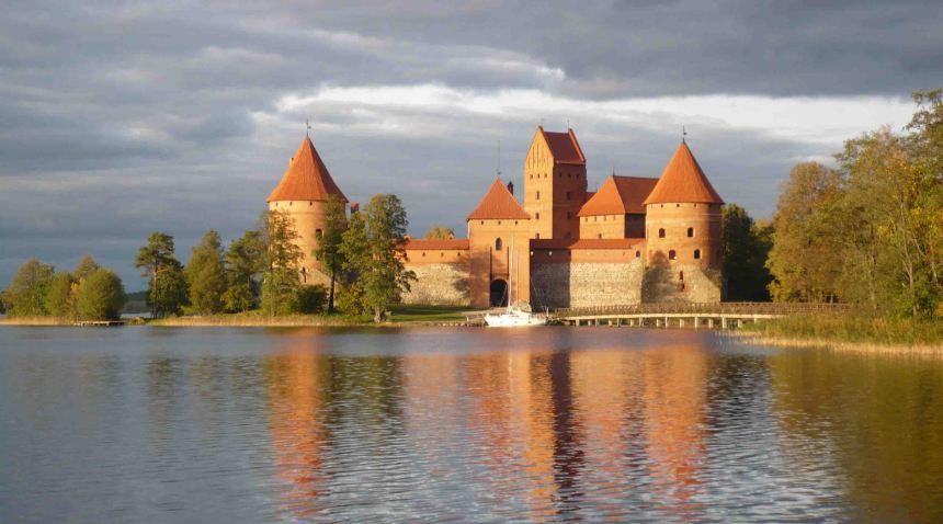 Trakai Castle.
