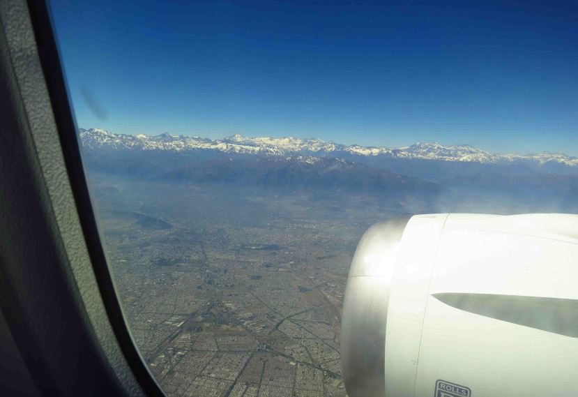 Chile and the Andes - my first look at South America!