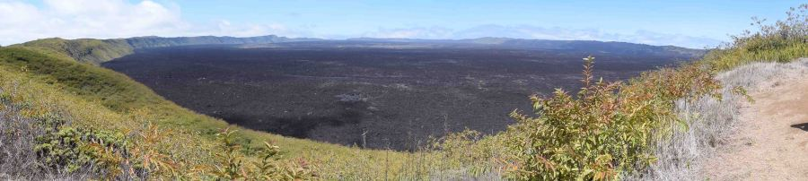 Volcano Sierra Negra, Isla Isabella