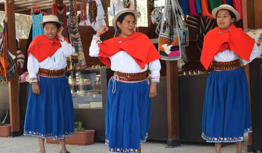 Dancing Andean style!