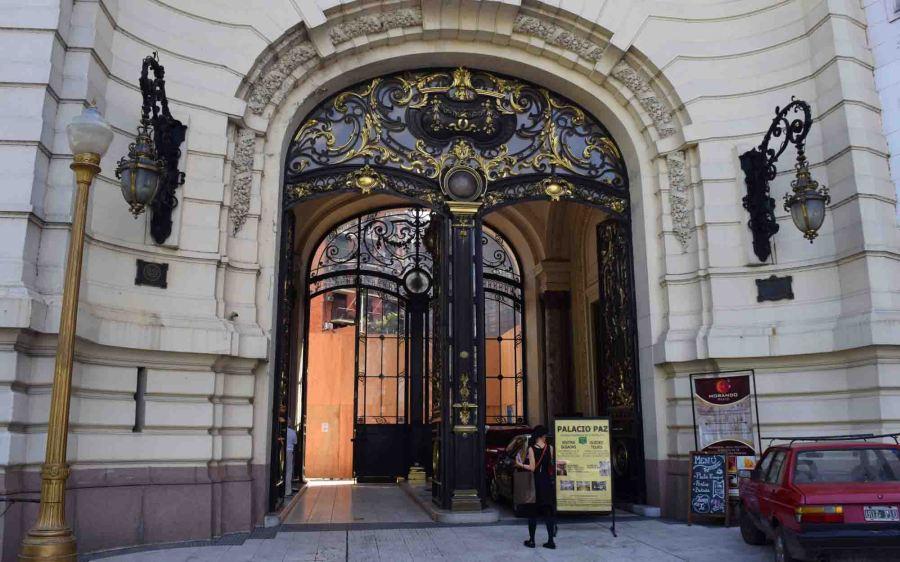 Gate as you enter.