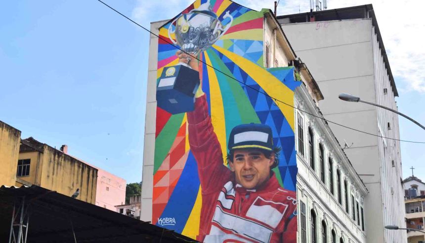 Senna lives on in Rio.