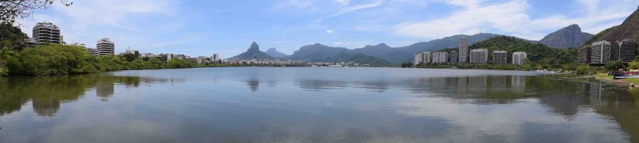 Rodrigo de Freitas Lagoon.