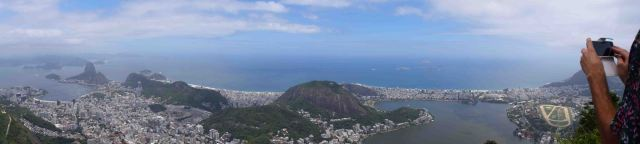 Also Rio from Christ the Redeemer.