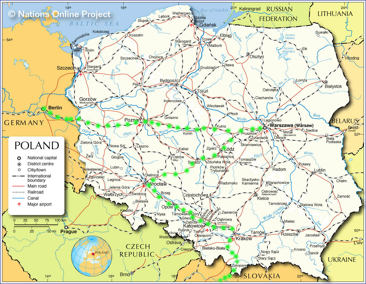Travel Itineraries Poland Andy S World Journeys