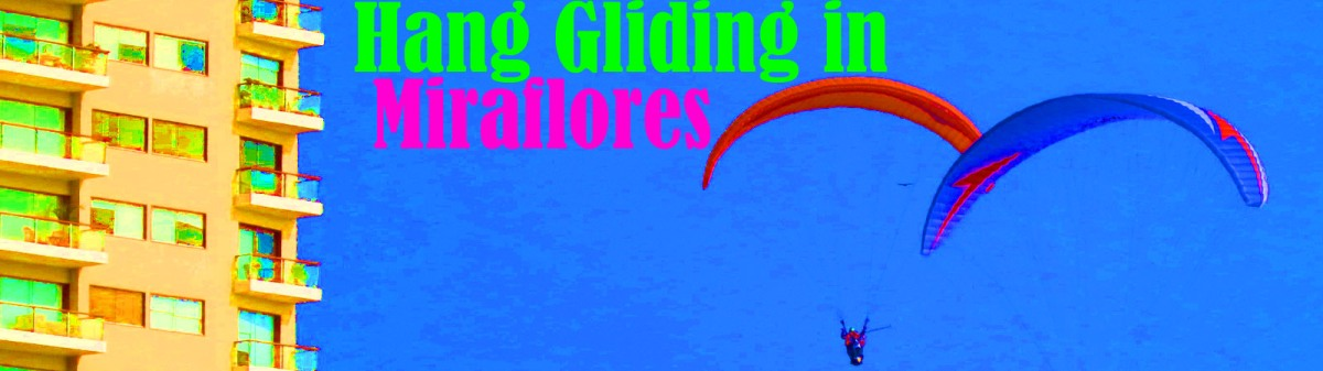 Hang Gliding in Miraflores