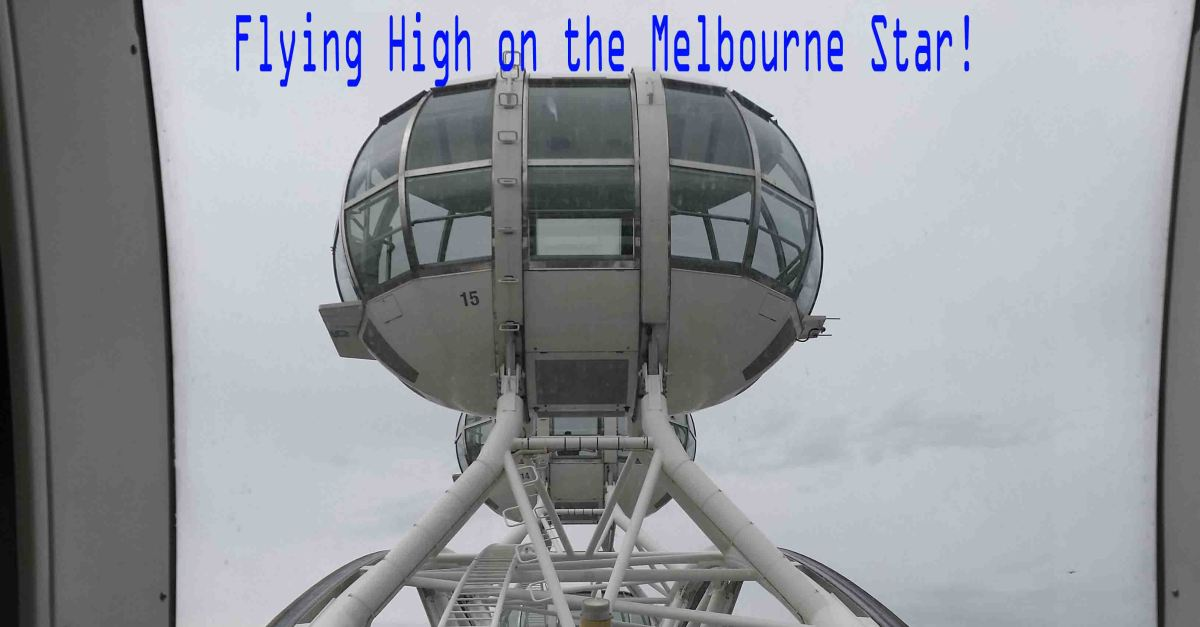 Flying High on the Melbourne Star