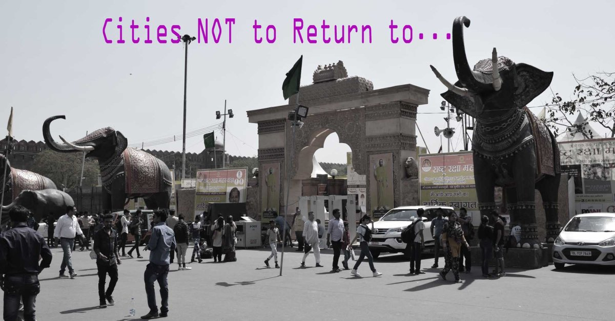 Cities to NOT Return to