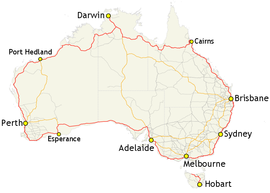 Travelling Australia – by Road and by Bus – Andy's World
