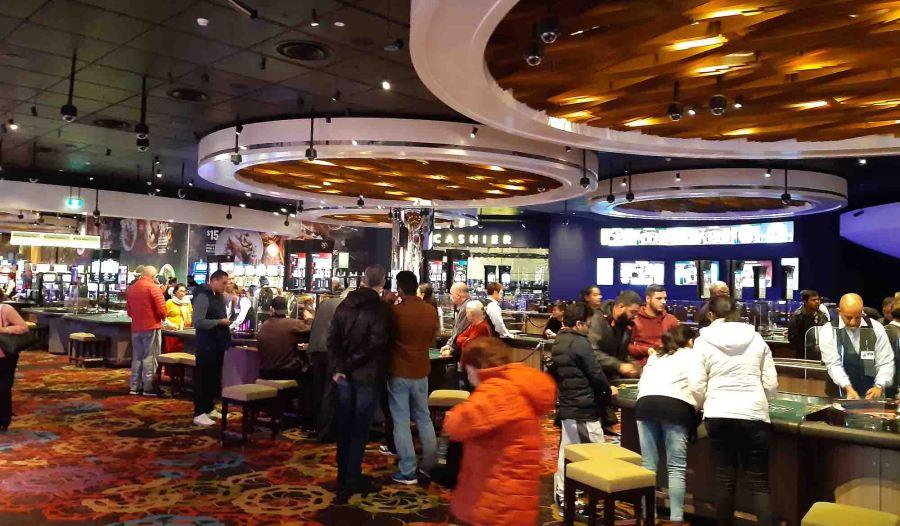 Crown Casino Inside