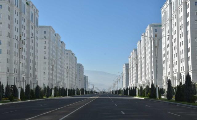 Ashgabat road