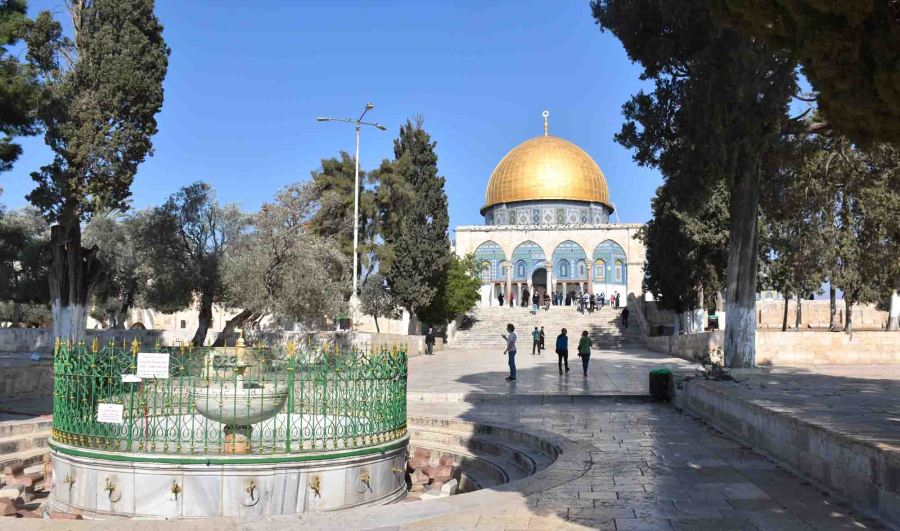 Dome of the Rock approach
