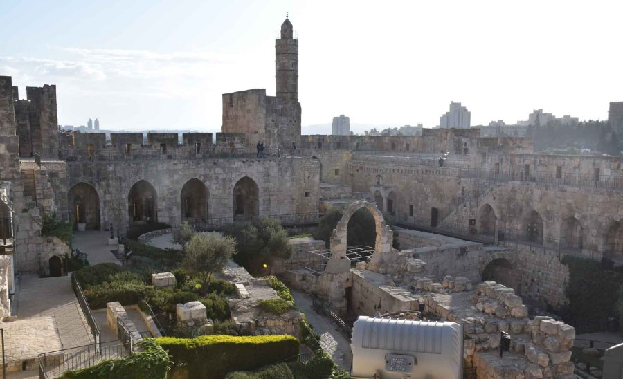 Inside the Tower of David