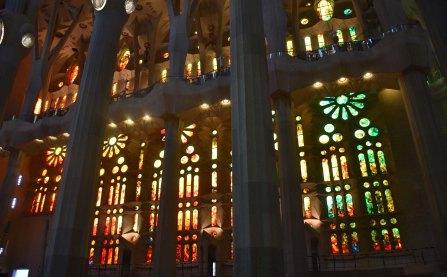 sagrada stained windows